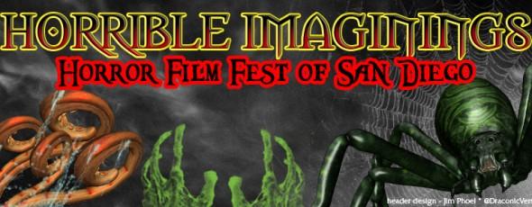 Screening at Horrible Imaginings Film Festival in San Diego